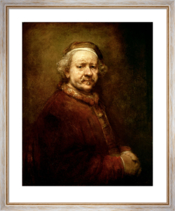 Self Portrait at the age of 63, 1669 by Rembrandt