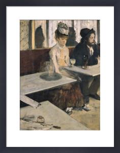 Absinthe by Edgar Degas