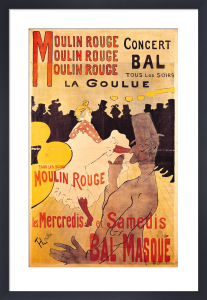 Moulin Rouge by Henri de Toulouse-Lautrec