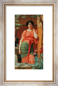 Nerissa, 1906 by John William Godward