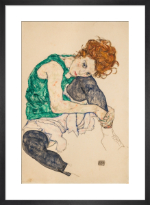 The Artist's Wife by Egon Schiele