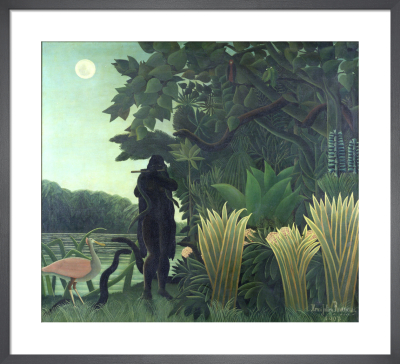 The Snake Charmer, 1907 by Henri Rousseau