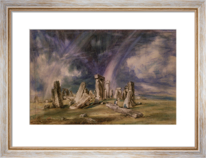 Stonehenge, 1835 by John Constable