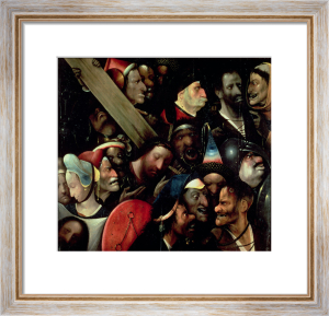 The Carrying of the Cross by Hieronymus Bosch