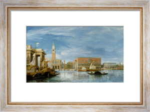 The Campanile and the Doge's Palace by James Holland