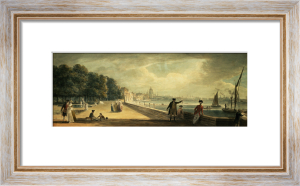 View of the City from the Terrace of Somerset House by Paul Sandby