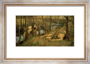 The Naiad, 1893 by John William Waterhouse
