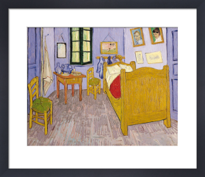 Bedroom at Arles, 1889 by Vincent Van Gogh