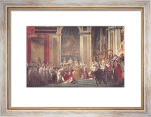 The Consecration of Napoleon and the Coronation of Josephine by Jacques-Louis David