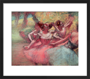 Four Ballerinas on the Stage by Edgar Degas