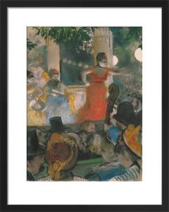 Cafe Concert at Les Ambassadeurs, 1876 by Edgar Degas