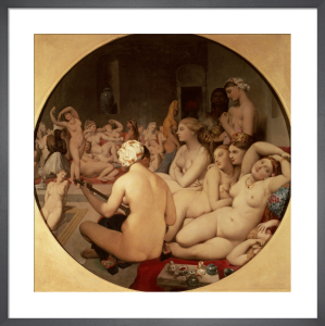 The Turkish Bath, 1863 by Jean-Auguste-Dominique Ingres
