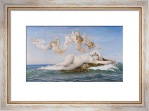 Birth of Venus, 1863 by Alexandre Cabanel