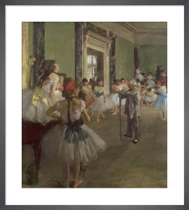 The Dancing Class, c.1873 by Edgar Degas