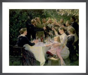 Hip Hip Hurrah! Artists' Party at Skagen, 1888 by Peder Severin Kröyer