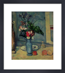 The Blue Vase, 1889 by Paul Cezanne