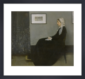 Portrait of the Artist's Mother, 1871 by James McNeil Whistler