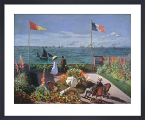 The Terrace at Sainte-Adresse, 1867 by Claude Monet