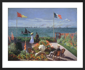 The Terrace at Sainte-Adresse, 1867 by Claude Monet