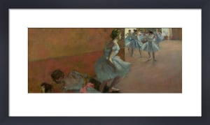 Dancers Ascending a Staircase, c.1886 by Edgar Degas