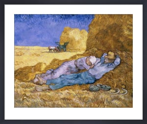 The Siesta by Vincent Van Gogh