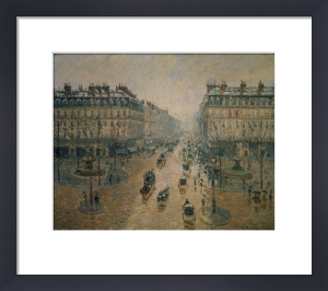 Avenue de L'Opera, Paris, 1898 by Camille Pissarro