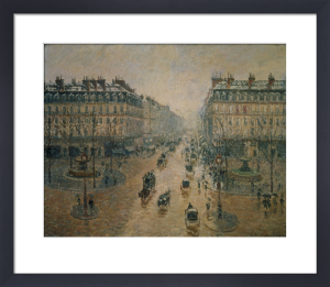 Avenue de L'Opera Paris, 1898 by Camille Pissarro