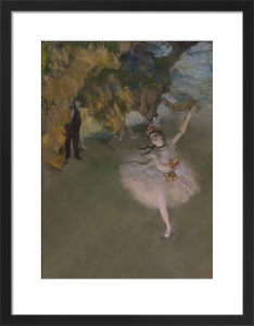 The Star, or Dancer on the Stage, c.1876 by Edgar Degas