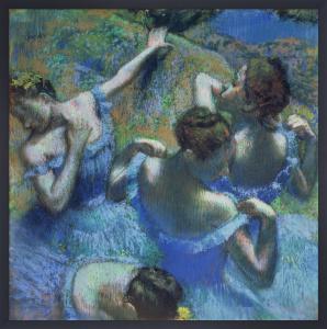 Blue Dancers, c.1899 by Edgar Degas