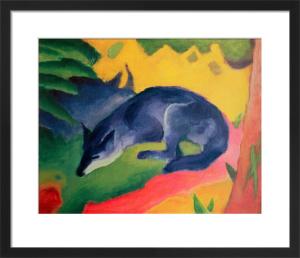 Der Blaue Fuchs by Franz Marc
