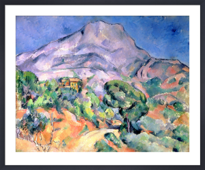 Mont Saint Victoire, 1900 by Paul Cezanne