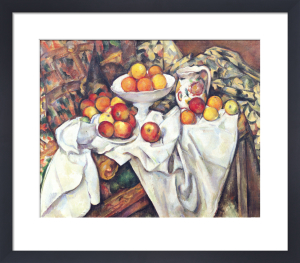 Apples and Oranges, 1895 by Paul Cezanne