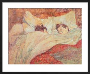 The Bed, c.1892 by Henri de Toulouse-Lautrec