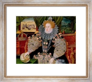Elizabeth I, Armada Portrait, c.1588 by George Gower
