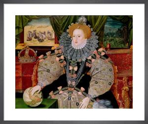 Elizabeth I (Armada Portrait), c.1588 by George Gower
