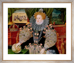 Elizabeth I (Armada Portrait), c.1588 by George Gower