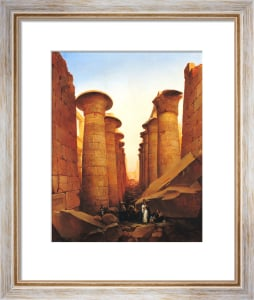 The Great Temple of Amun at Karnak by Jean Charles Langlois