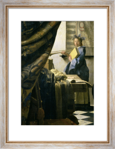 The Painter in his Studio, 1665 by Johannes Vermeer