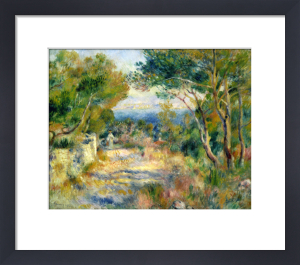 L'Estaque, 1882 by Pierre Auguste Renoir