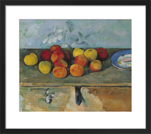 Still Life of Apples and Biscuits, 1880 by Paul Cezanne