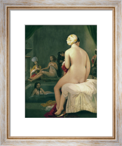 The Little Bather in the Harem, 1828 by Jean-Auguste-Dominique Ingres