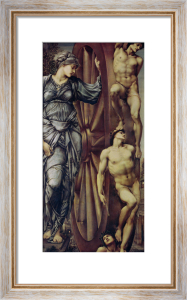 The Wheel of Fortune, 1875 by Sir Edward Burne-Jones