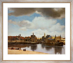 View of Delft, c.1660 by Johannes Vermeer
