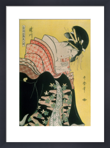 Takigawa from the Tea-House, Ogi by Utagawa Kuniyoshi