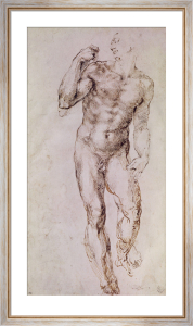 Sketch of David with his Sling, 1503 by Michelangelo