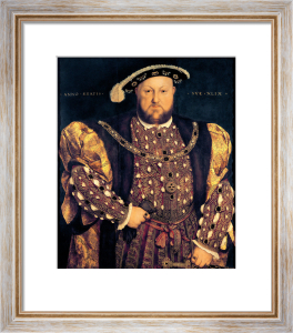 Portrait of Henry VIII aged 49, 1540 by Hans Holbein The Younger