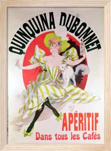 Quinquina Dubonnet aperitif, 1895 by Jules Cheret