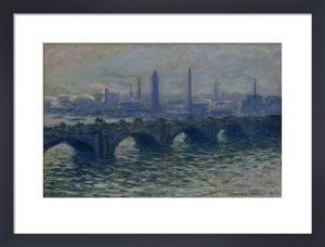 Waterloo Bridge, 1902 by Claude Monet