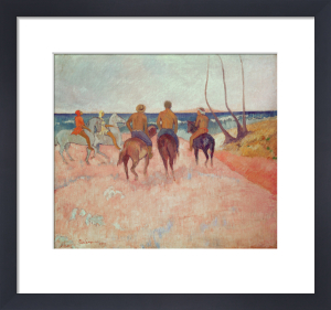 Horseman on the Beach (Hiva Hoa) 1902 by Paul Gauguin