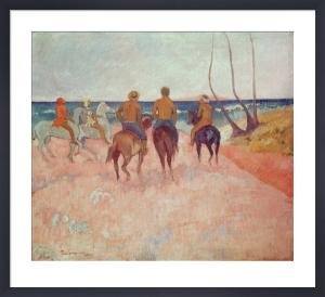 Horseman on the Beach (Hiva Hoa), 1902 by Paul Gauguin